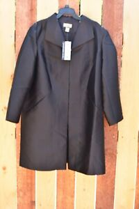 Randolph-Duke-The-Look-wool-blend-coat-jacket-topper-plus-size-20W-New-NWT