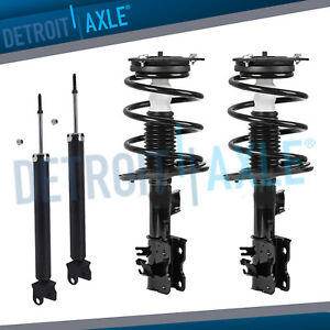 front struts set and rear shocks for 2007 2008 2009 2010 2011 2012image is loading front struts set and rear shocks for 2007