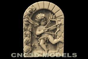 3D-Models-for-CNC-Router-STL-File-Artcam-Aspire-Vcarve-Relief-Carving-D145