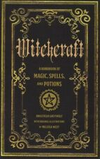 Witchcraft A Handbook of Magic Spells & Potions HARDCOVER 2016 by Anastasia G...