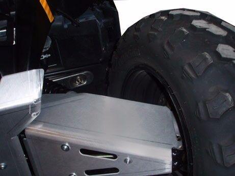 Ricochet Off-Road 4 PC A-Arm /& CV Boot Guards 2009-17 Polaris Sportsman 550//850