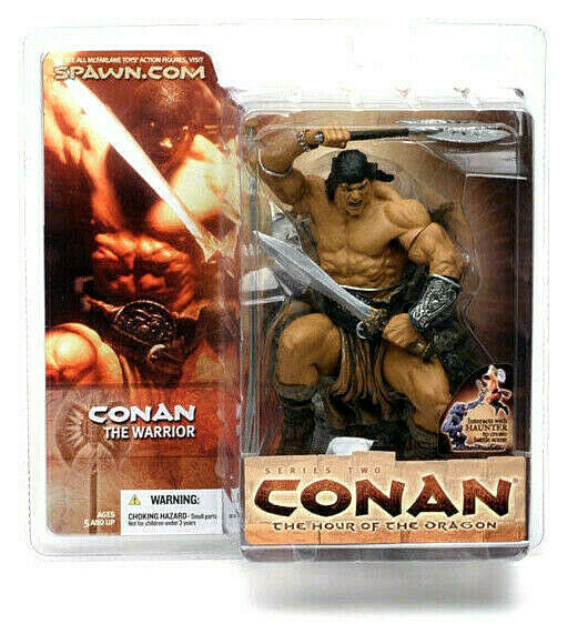 CONAN Serie 2 CONAN WARRIOR figura PVC 16cm McFarlane