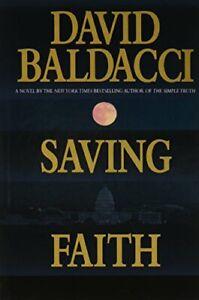 Saving Faith by Baldacci, David Hardback Book The Fast Free Shipping