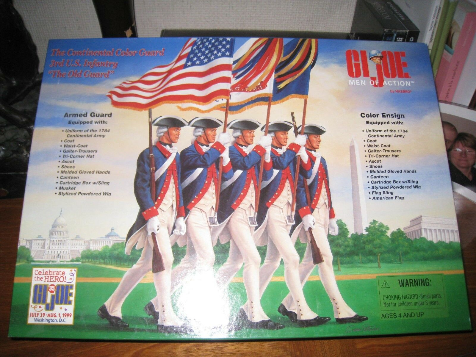 The continental color guard gi joe celebrate the hero