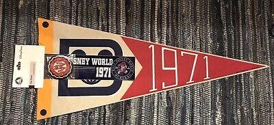 Sticker Walt Disney World Fan Pack Button Pennant NWT 1971