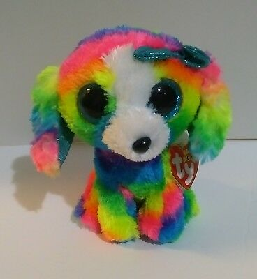 """MWMT ~ TY Beanie Boos 2018 Claire/'s Exclusive 6/"""" Scout the Rainbow Koala"""