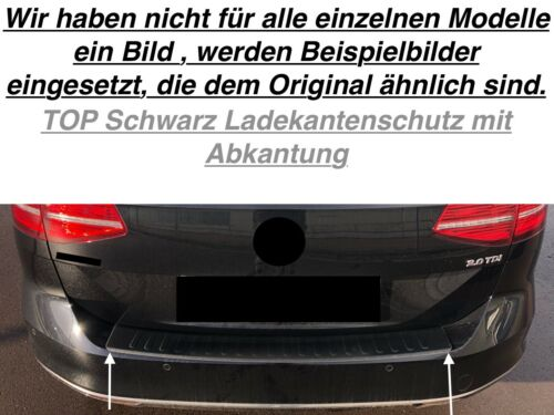 Schwarz Ladekantenschutz Mit Abkantung für BMW F46 2 Gran Tourer G13S