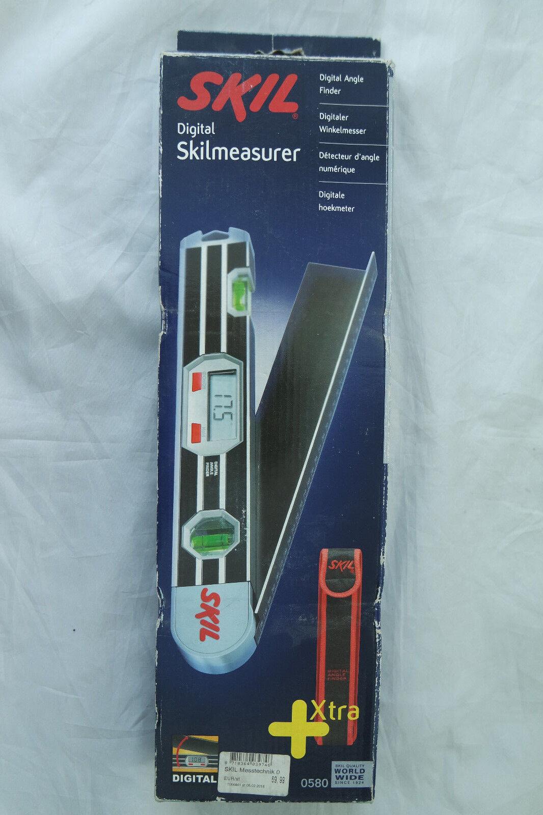Skil 0580 AA Digitaler Winkelmesser 220° LCD-Anzeige