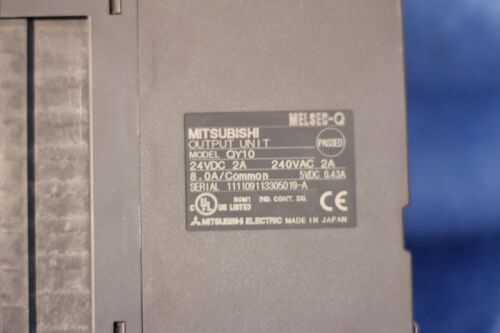 Mitsubishi QY10 MELSEC-Q Contact Output Module 16-Points 24V DC 1 YEAR WARRANTY