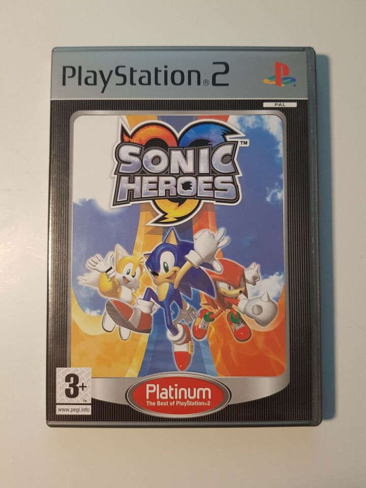 Sonic Heroes, PS2