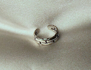 CHAIN-LINKS-Sterling-925-Silver-Ear-Cuff-Earcuff-Pierceless-Earring-SEE-ALL