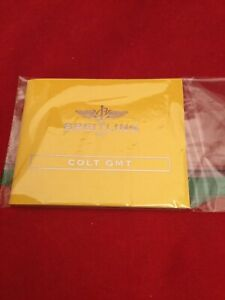 AUTHENTIC BREITLING COLT AUTOMATIC   INSTRUCTION  MANUAL BOOKLET BOOK