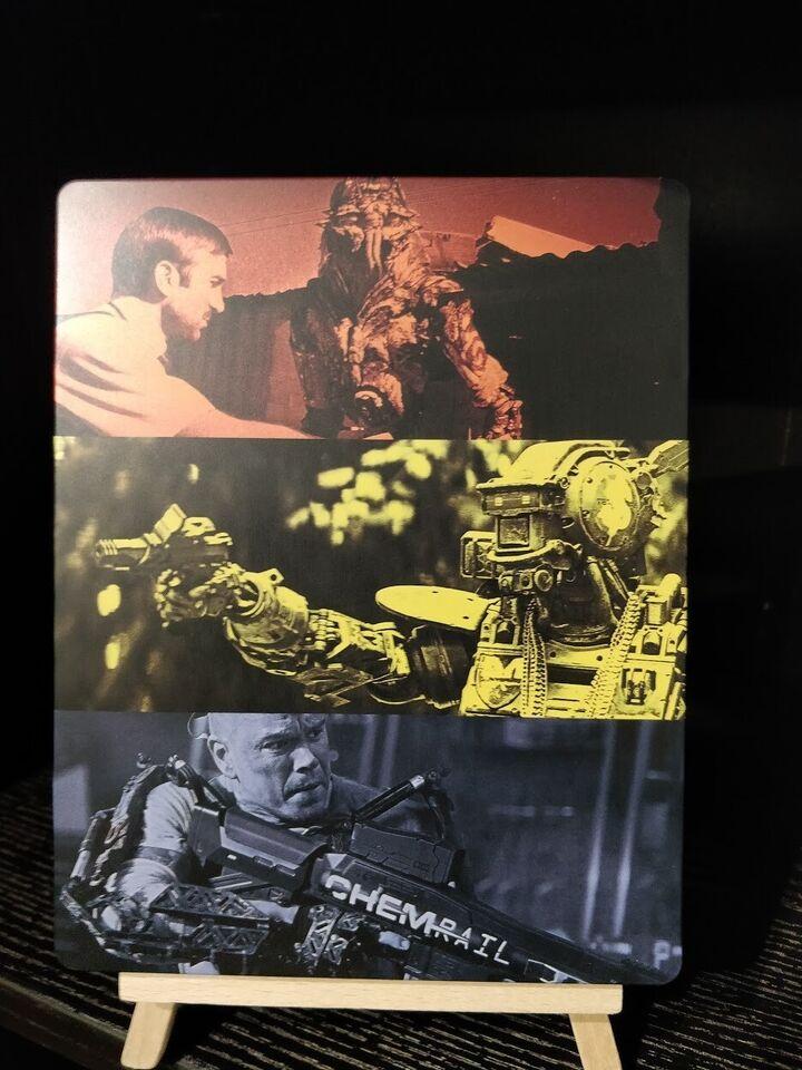BLOMKAMP 3 Steelbook, Blu-ray, action