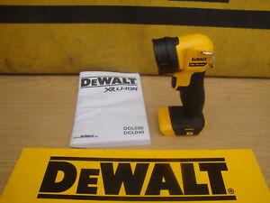 BRAND-NEW-DEWALT-DCL040-XR-18V-LED-SWIVEL-WORKLIGHT-TORCH