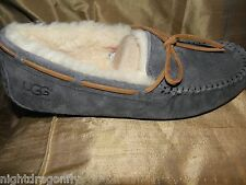 UGG Dakota moccasin Pewter gray women 10 (eu 41) slipper