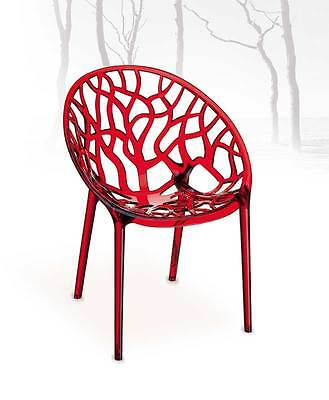 Acrylic Plexiglass Ghost Chair from High Polycarbonate for Indoors & Exterior