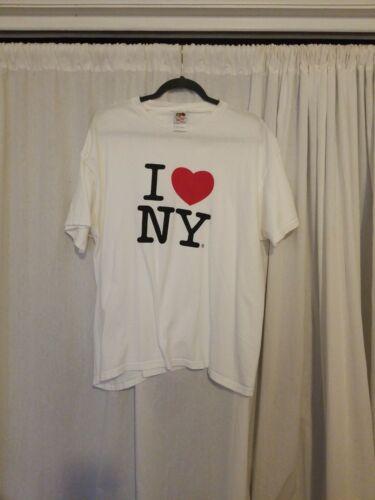 I LOVE NY T-SHIRT XL 100% cotton