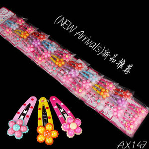 Wholesale-30pcs-10-Packets-Mixed-Baby-Kid-Children-Girls-Hair-Pin-Clips-Slides