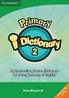 Primary I-Dictionary 2 Low Elementary DVD-ROM (Home User) by Anna Wieczorek (DVD, 2011)