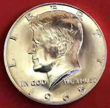1965 SMS KENNEDY HALF DOLLAR 40% SILVER PROOF-LIKE GEM FROM SPECIAL MINT SET