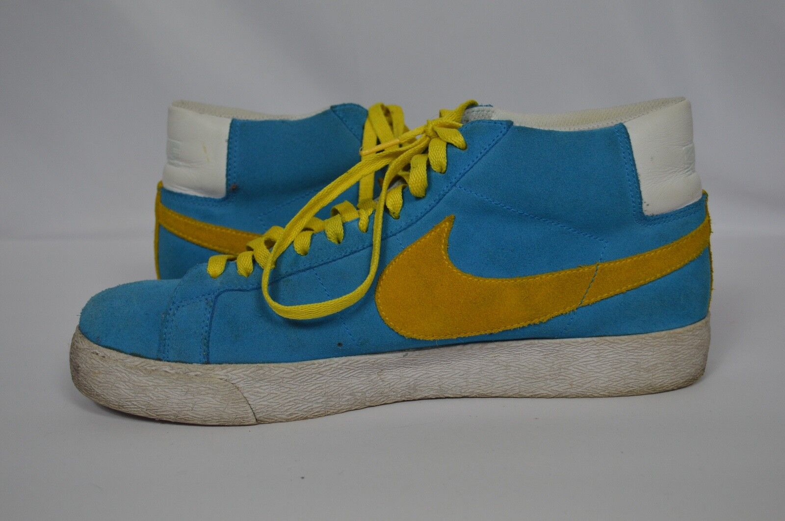 NIKE BLAZER SB SWEDISH blueeE VARSITY MAIZE Danijel Todgoldvic 310801-471 US Sz 12