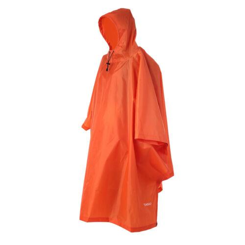 Tents Raincoat Hiking Cycling Poncho Backpack Rain Cover Rainning Coat Hood