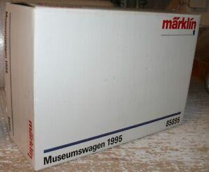 S36 Märklin 85895 nur Leerkarton Museumswagen 1995 Spur 1