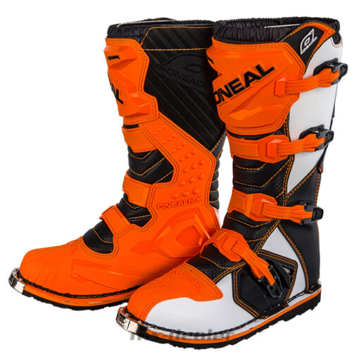 ONeal Rider Motocross Stiefel orange Enduro boot Quad mx  41 42 43 44 45 46 47