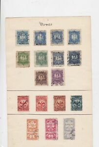 Mexico old revenue Stamps Ref 15496