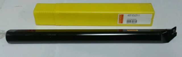 Internal Coolant Supply 25 mm Shank Diameter Sandvik Coromant A25T-SDQCL 11HP-R Steel CoroTurn 107 Boring Bar