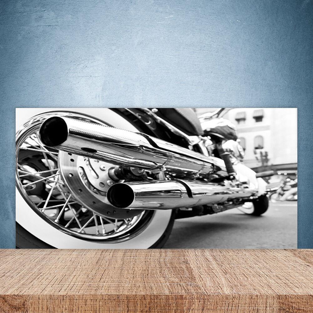 Crédence de cuisine en verre Panneau Paroi 100x50 Art Motor