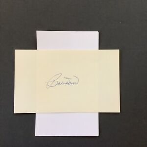 Bobby Doerr Boston Red Sox Autographed Index Card A