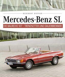 Mercedes-SL-Baureihe-107-280-300-350-380-420-450-500-560-SLC-Buch-book-R107-C107