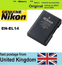 Genuine Original NIKON EN-EL14 Battery D3100 D3200 D5100 D5200 P7000 P7100 P7700