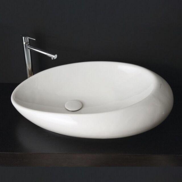 Scarabeo By Nameeks Moai Vessel Bathroom Sink For Sale Online Ebay