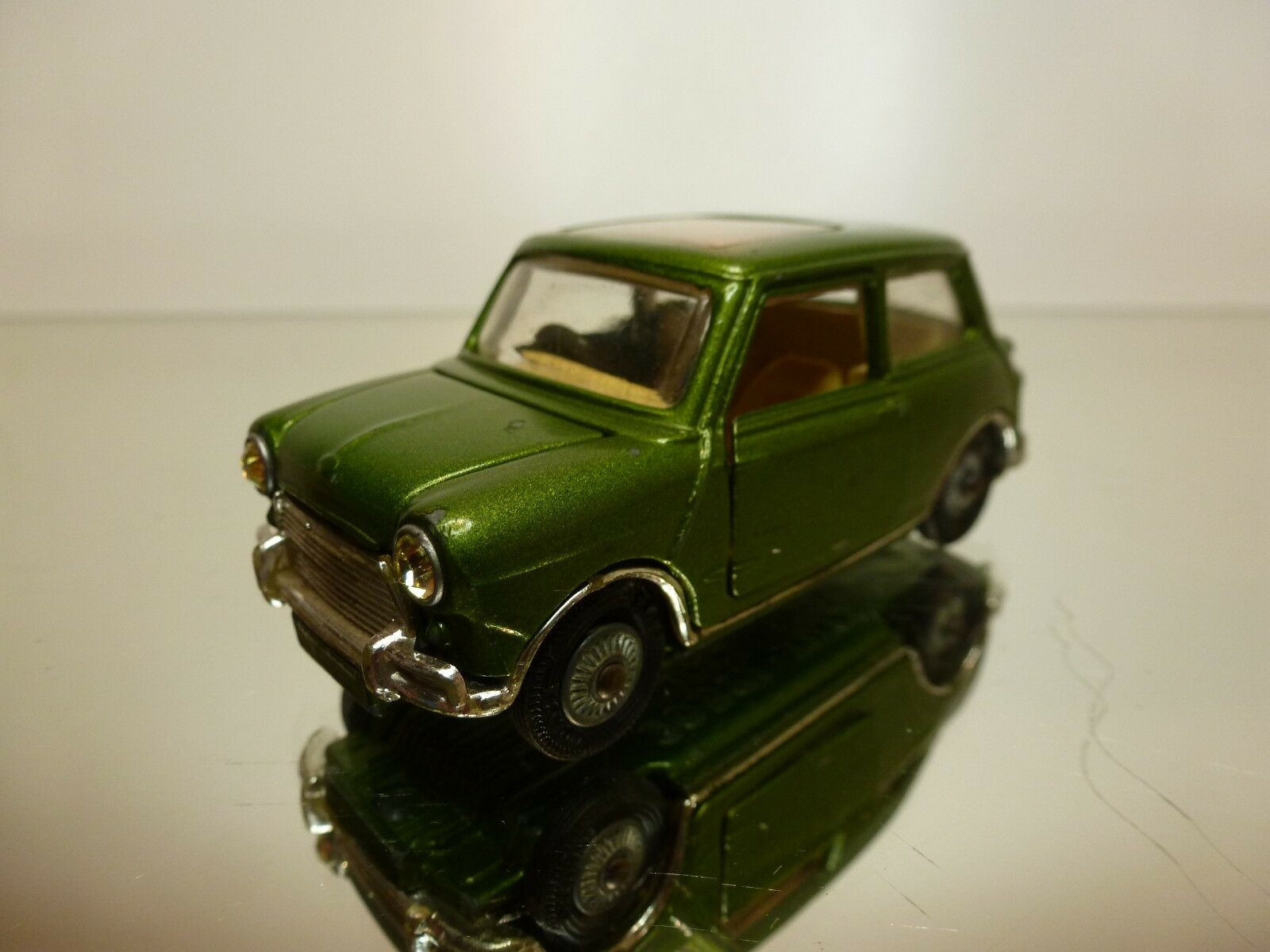 CORGI TOYS 334 BMC MINI COOPER S - SUNROOF- vert  METALLIC 1 43 - GOOD CONDITION  soutenir le commerce de gros