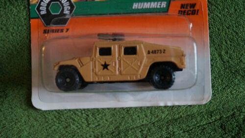 1998 Matchbox #48 Hummer Military Edition, In original package