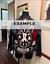 "LADY RIDER BIKER ROCKER PATCH 12/""X3/"" motorcycle jacket leathers fits harley USA"