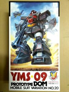 Details about Bandai Gundam 0079 - 1/100 Zeon's Principality Prototype  YMS-09 DOM model kit