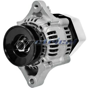 NEW-ALTERNATOR-MINI-DENSO-STYLE-CHEVY-STREET-HOT-ROD-RACE-CAR-ONE-1-WIRE-HOOKUP