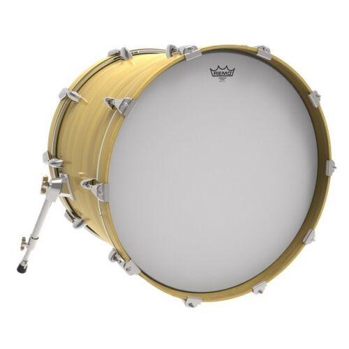 26in Remo Emperor Coated Bass Drum Head