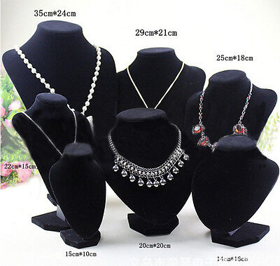 Shop Mannequin Bust Jewelry Necklace Pendant Earring Display Stand Holder UKSK