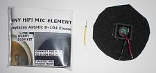 W2ENY HiFi replacement mic element for Astatic D-104 amp models T-UG8 T-UG9 Kit