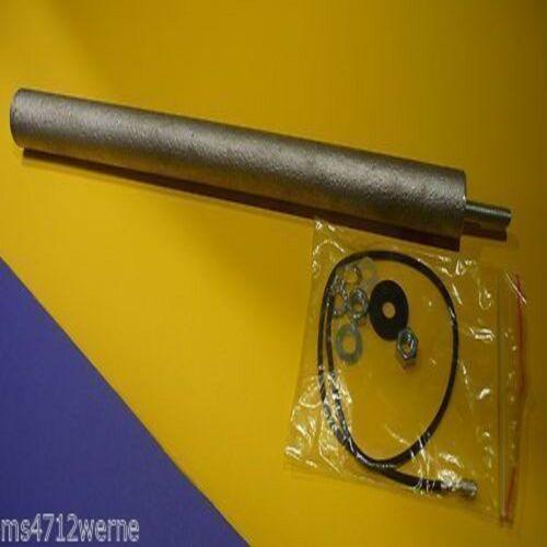 Magnesium Anode Ø 33x290mm M8 mit Zubehör passend für De Dietrich GMT 132