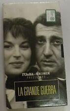 LA GRANDE GUERRA - VHS - Collezione l' Unità e Ricordi - Sordi Gassman Monicelli