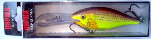 Forelle Spezialfarben RAPALA Risto Rap RR-8 Wobbler Köder Barsch Raubfische