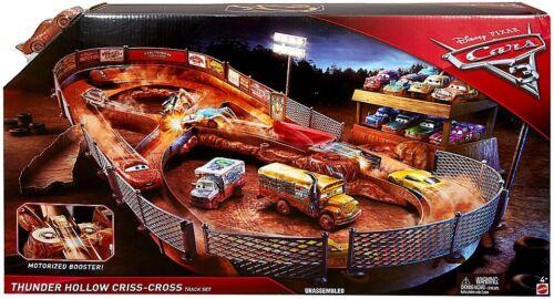 Disney Cars Cars 3 Thunder Hollow Criss-Cross Playset