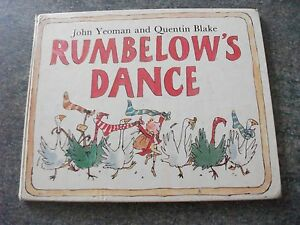 1st-1982-Rumbelow-s-Dance-Story-by-John-Yeoman-with-Pictures-by-Quentin-Blake