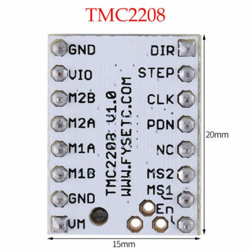 New TMC2130 TMC2100 TMC2208 Stepstick Stepper Motor Driver Module for 3D Printer