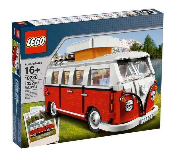 LEGO 10220 modelloli Avanzati  VOLKSWAGEN T1 Camper Van lot2  economico in alta qualità